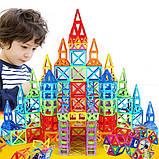 Магнитный конструктор для ребенка магнитные блоки 40 элементов, фото 7