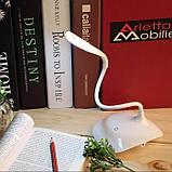 Настольная изгибающаяся LED лампа Fashion wind desk Light USB, фото 4