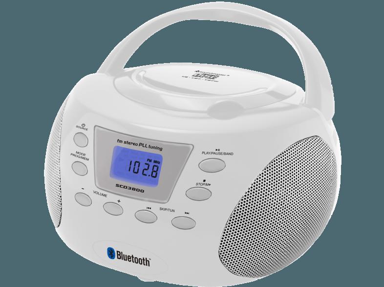 Бумбокс радиоприемник Soundmaster SCD3800WS УЦЕНКА 152901
