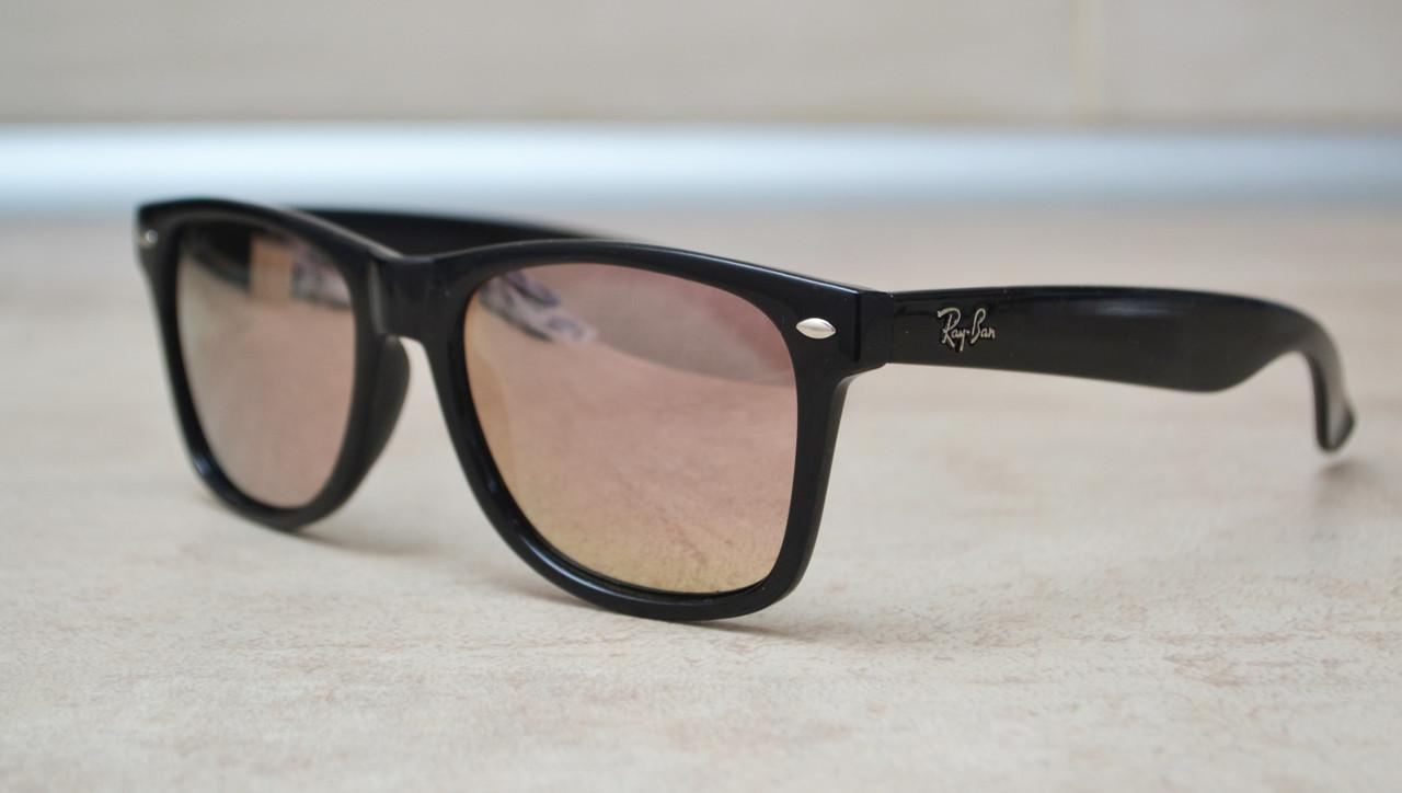 Солнцезащитные очки Ray Ban Wayfarer Polarized поляризованные 2140 C15 55-20-142 (реплика)
