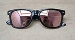 Солнцезащитные очки Ray Ban Wayfarer Polarized поляризованные 2140 C15 55-20-142 (реплика), фото 2
