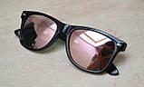 Солнцезащитные очки Ray Ban Wayfarer Polarized поляризованные 2140 C15 55-20-142 (реплика), фото 3
