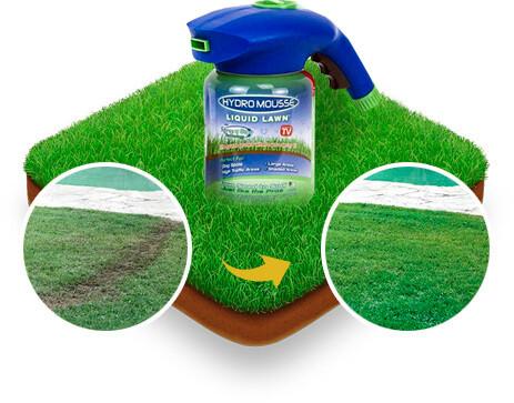 Рідкий газон Hydro Mousse Liquid Lawn 2 в 1 + розпилювач для гідропосіву (2784)