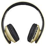 Bluetooth наушники с микрофоном ECandy Gold. Уценка, фото 2