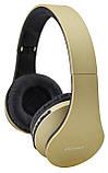 Bluetooth наушники с микрофоном ECandy Gold. Уценка, фото 3
