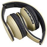 Bluetooth наушники с микрофоном ECandy Gold. Уценка, фото 5