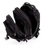 Тактический штурмовой военный рюкзак 25л портфель, фото 4