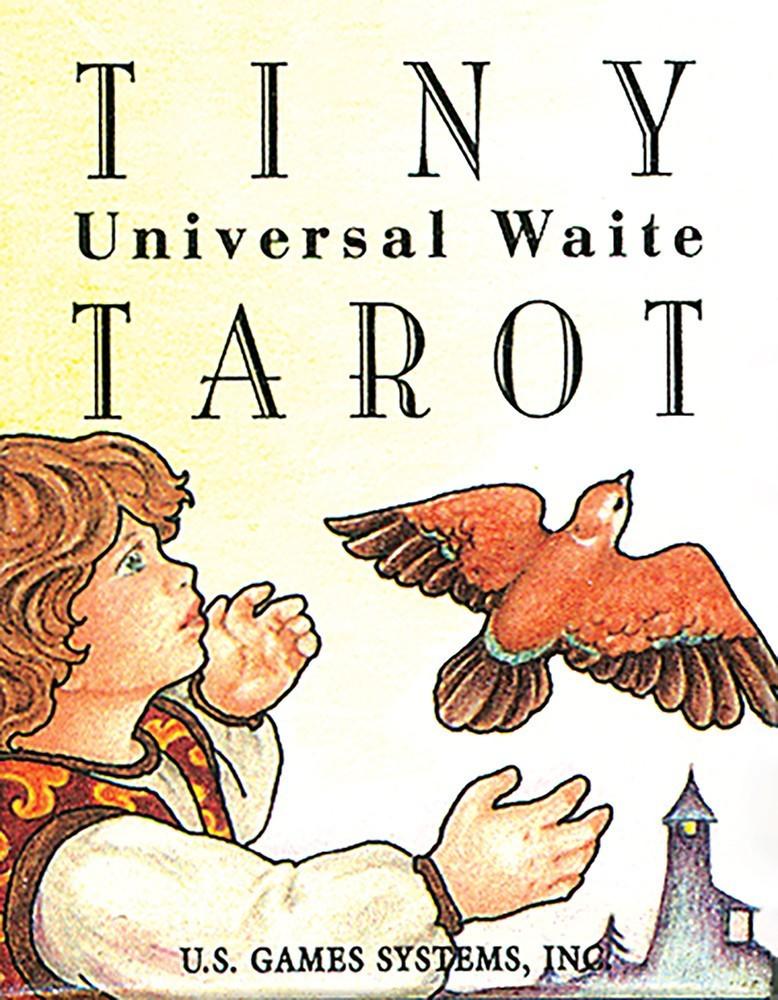 Tiny Universal Waite Tarot/ Универсальное Таро Уэйта крошечное