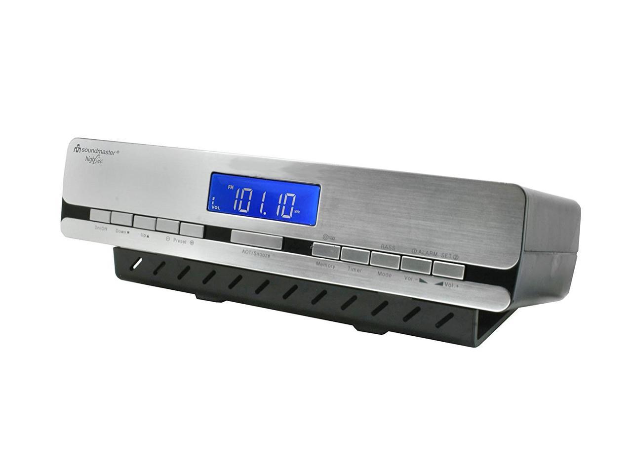 Подвесное кухонное радио с часами Soundmaster UR2006