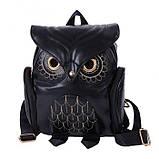 Модный женский рюкзак Сова, фото 2