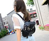 Модный женский рюкзак Сова, фото 4