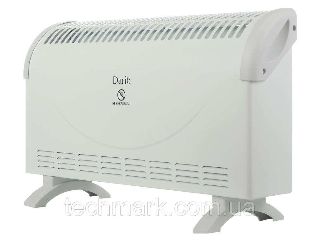 Нагреватель конвекционный, бытовой, мощностью 2000ВТ Dario DCH7120 белый