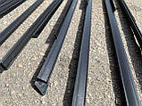 Бархотка Ваз 2104 2105 2107 нижняя (югославка) цельная Пластэк (к-кт 8 шт.), фото 4