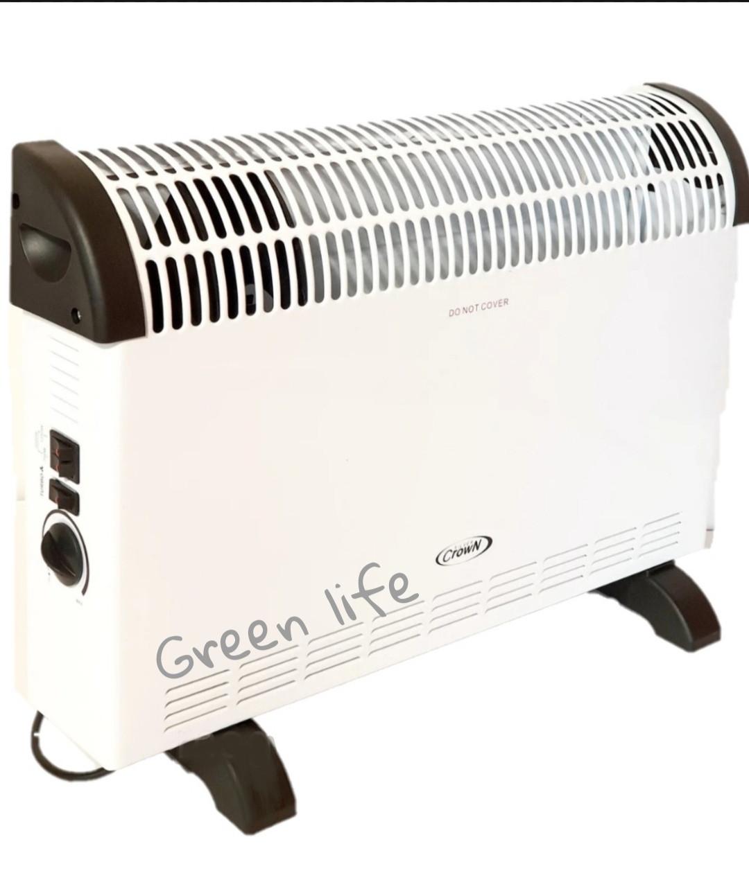 Электрический конвектор Silver Crown 2 кВт ( с вентилятором)