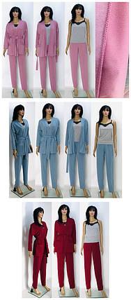 Домашний костюм (халат+брюки), фото 2