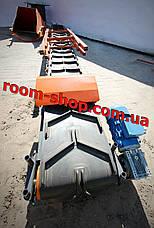 Конвеєр стрічковий, транспортер, стрічковий навантажувач, ширина 400 мм,, фото 3