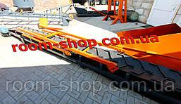 Конвеєр стрічковий, транспортер, стрічковий навантажувач, ширина 400 мм,, фото 2