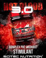 Предтренировочный препарат нового поколения Hot Blood 3.0 300g Scitec Предтреник Хот Блад (банка)
