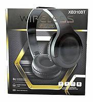 Наушники беспроводные Bluetooth XB310BT (Голубой)