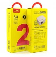 СЗУ 2USB LDNIO A2203I + кабель Lightning