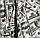 """Постельное бельё с простыней на резинке двуспальное 180х220 (13813) хлопок """"Ранфорс"""", фото 6"""