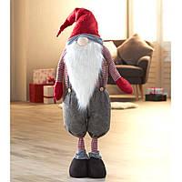 Новогодний большой Santa красный