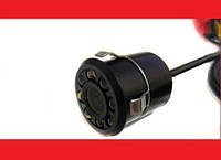 Камера 1858 заднего вида для авто с подсветкой в бампер, фото 1