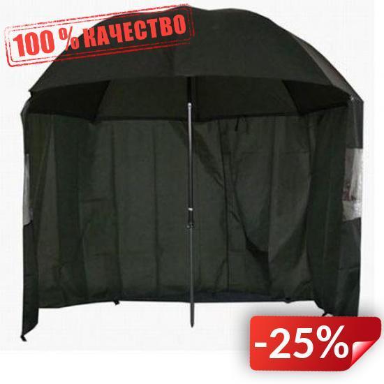 Зонт-палатка для рыбалки Kronos Top SF23774 Черный (gr005837)