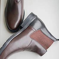 Ботинки челси мужские коричневого цвета Jack зимние