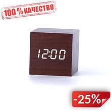 Настольные часы ART-869-2 Куб с термометром (55000994)