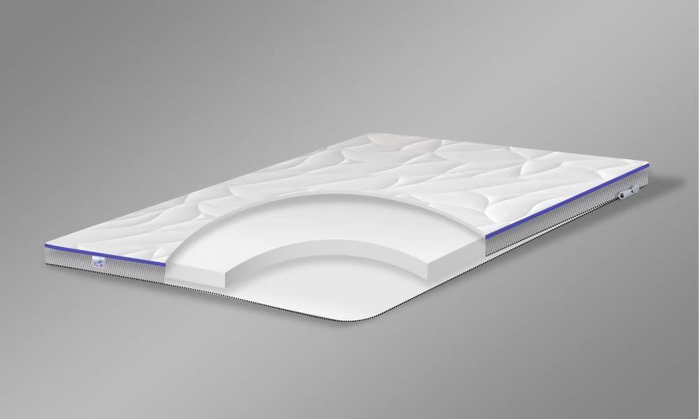 Матрас TOP AIR Foam 120x200 беспружинный комфортный 8 см высота