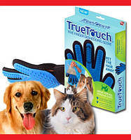 True Touch Перчатка для вычёсывания шерсти, фото 1