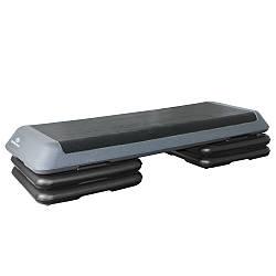 Cтеп-платформа 3-х секционная для йоги и фитнеса Stein (мягкая) 110х41х20 см с нагрузкой до 120 кг