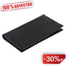 Кожаное портмоне Valenta Wallet A7 BlackNappa Черный (ХР211)
