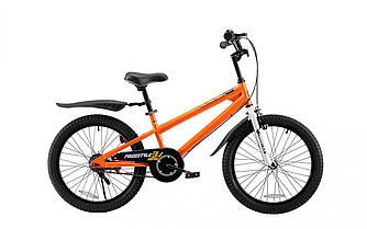 """Велосипед детский от 6 до 9 лет RoyalBaby FREESTYLE 20"""", OFFICIAL UA, оранжевый, рост ребенка 125-160 см"""