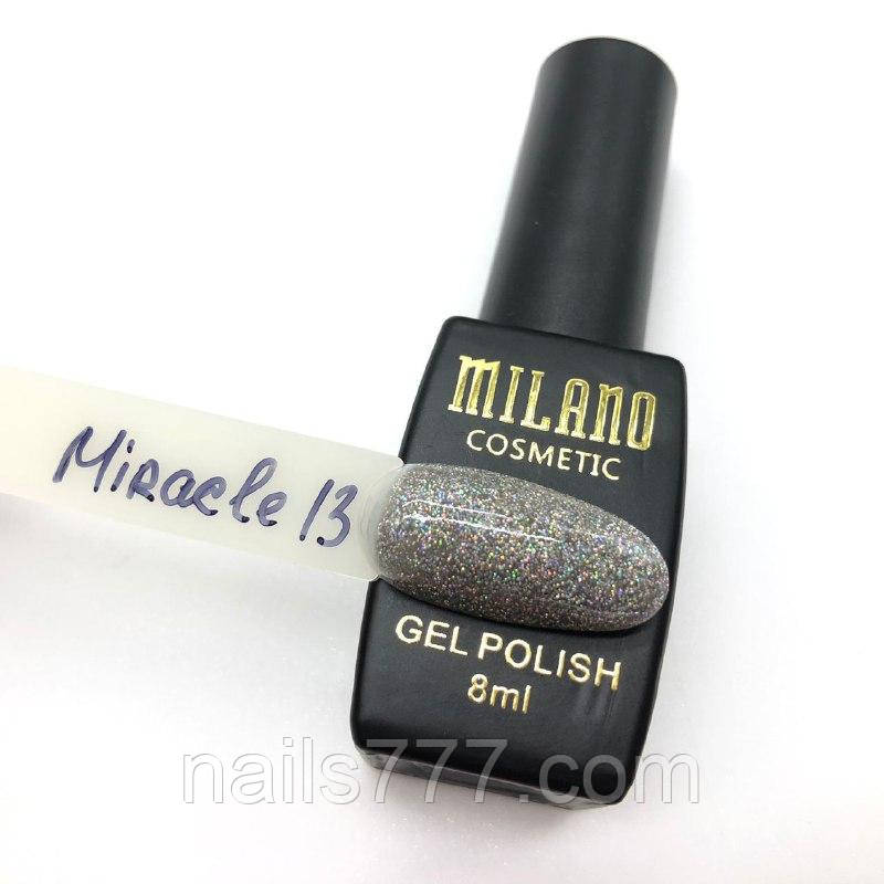 Гель-лак Milano Miracle 8 мл, №13