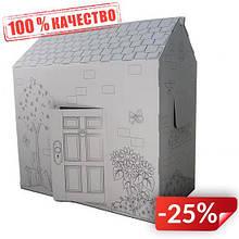 Картонный домик-раскраска Supretto (4955)