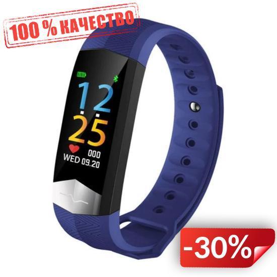 Фитнес браслет Smart Band ST CD01 Тонометр + ЭКГ + PPG Синий (SBCD01BE)