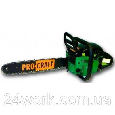 Бензопила ProCraft К 450 (2ш+2ц) плавный пуск