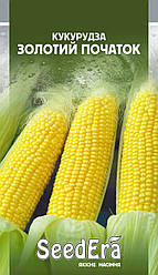 Семена Кукуруза сахарная Золотой початок 20 г SeedEra 2737