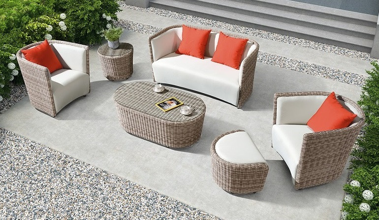Комплект вуличних меблів Oxford для саду, тераси, кафе