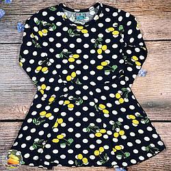 Дитяче плаття в горошок Розміри: 3,4,5,6 років (20954)