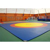 Борцовский ковер олимпийский для борьбы, дзюдо (маты с покрышкой) OSPORT