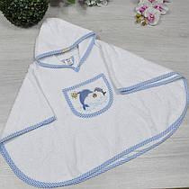 Рушник з капюшоном для купання, махра (90% cotton, 10% micropoly), розмір 1-2, 2-3, 3-4 року (3 од в уп),