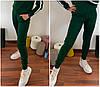Вязаные теплые штаны женские 42-44 (в расцветках), фото 7