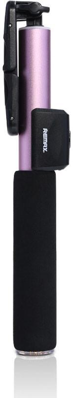 Монопод Remax RP-P4 Selfi stick Bluetooth Розовый (48825)