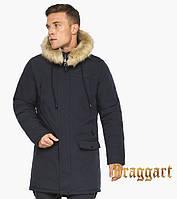 Воздуховик Braggart Angel's Fluff | Куртка зимняя мужская темно-синяя