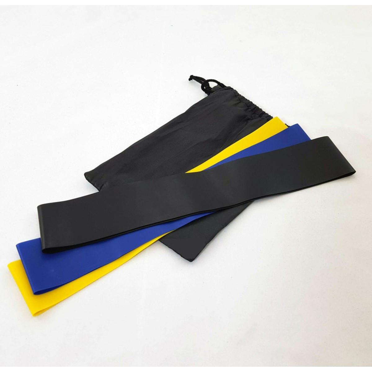 Резинки для фитнеса Raciness 3 в 1 Разноцветные (AA0091)