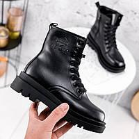 Ботинки женские Cadoc черный ЗИМА 2301, фото 1