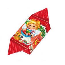 Картонная упаковка, Конфета новогодняя Рождественский Ангел, до 200г, мелкий опт, фото 2